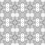 Ethnic triangle pattern Royalty Free Stock Photography