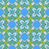 Ethnic triangle pattern Royalty Free Stock Images