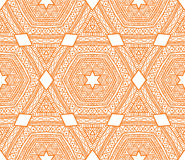 Ethnic triangle pattern Stock Photo