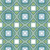 Ethnic triangle pattern Stock Image