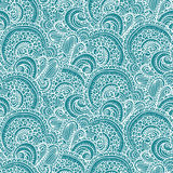 Ethnic tribal abstract seamless background pattern in vector. Stock Image