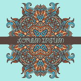 Ethnic tribal aztec ornamental background Stock Image