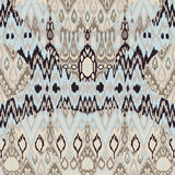Ethnic tribal carpet, plaid pattern fabric wrapping, floor tile Royalty Free Stock Images