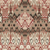 Ethnic tribal carpet, plaid pattern fabric wrapping, floor tile Royalty Free Stock Photos