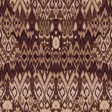 Ethnic tribal carpet, plaid pattern fabric wrapping, floor tile Stock Photo