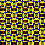 Funky African Pattern. Ethnic, tribal colorful seamless pattern Stock Photos