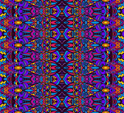 Ethnic tribal festive pattern for fabric. Royalty Free Stock Photos