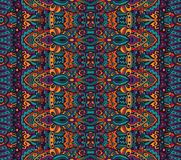 Ethnic tribal festive pattern for fabric. Abstract geometric colorful seamless pattern ornamental. Mexican design Stock Photography