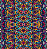 Ethnic tribal festive pattern for fabric. Stock Photo