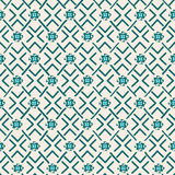 Ethnic tribal geometric seamless pattern Royalty Free Stock Photos