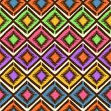 Ethnic tribal geometric seamless pattern Stock Photography