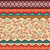 Ethnic tribal pattern background Stock Photography