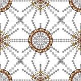 Ethnic tribal pattern in boho style Stock Image