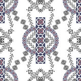 Ethnic tribal pattern in boho style Stock Photography