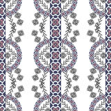 Ethnic tribal pattern in boho style Royalty Free Stock Photography