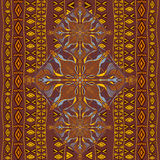 Ethnic tribal pattern with decorative ornaments Stock Photos