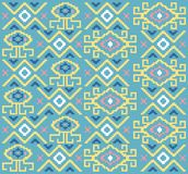 Ethnic tribal pattern fun color. Textile pattern and texture Vector or background Stock Photos