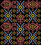 Ethnic tribal pattern light. Textile pattern and texture Vector or background Royalty Free Stock Photography
