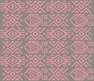Ethnic tribal pattern with modern taste. Textile texture pattern and background vector Stock Photography
