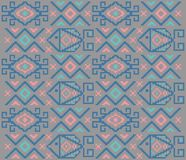 Ethnic tribal pattern. Textile pattern and texture Vector or background Royalty Free Stock Image