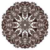 Ethnic tribal round ornament. Colorful mandala for meditation. Stock Photo