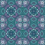 Ethnic tribal seamless colorful Geometric pattern Royalty Free Stock Image