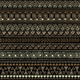 Ethnic tribal Seamless Pattern Stock Image