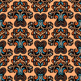 Ethnic tribal vector seamless pattern Royalty Free Stock Photo