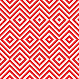 Ethnic tribal zig zag and rhombus seamless pattern Royalty Free Stock Image