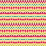 Ethnic tribal zig zag seamless pattern Royalty Free Stock Photo