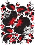 Ethnic ukrainian floral pattern Stock Images