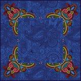 Ethnic ukrainian ornament on paisley background Stock Image