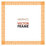 Ethnic vector frame Stock Image