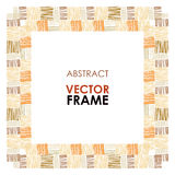 Ethnic vector frame Stock Images