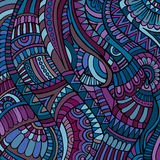 Ethnic vector pattern Stock Photography