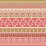 Ethnic vector seamless pattern. Stock Images
