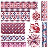 Ethnic vector seamless patterns. vector illustration