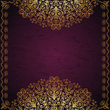Ethnic vintage background Royalty Free Stock Photo