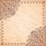 Ethnic vintage background Stock Image