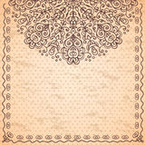 Ethnic vintage background Stock Photography