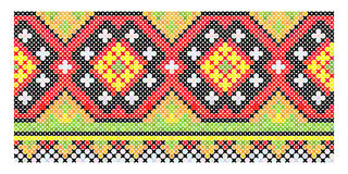 Ethnic vintage embroidery seamless Royalty Free Stock Images