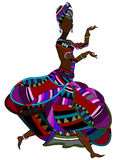 Ethnic woman Stock Photography