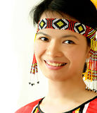 Ethnic woman royalty free stock photo