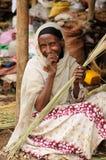 Ethnic  woman from Ethiopia Stock Photo