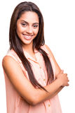 Ethnic woman posing Royalty Free Stock Images