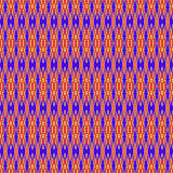 Ethnic woven texture. Semless ethnic tribal colorful pattern Stock Images