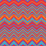 Ethnic zigzag pattern, aztec style seamless background Royalty Free Stock Photo