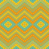 Ethnic zigzag pattern Royalty Free Stock Image