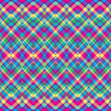 Ethnic zigzag pattern in retro colors Stock Photography