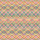 Ethnic zigzag pattern in retro colors Royalty Free Stock Photo